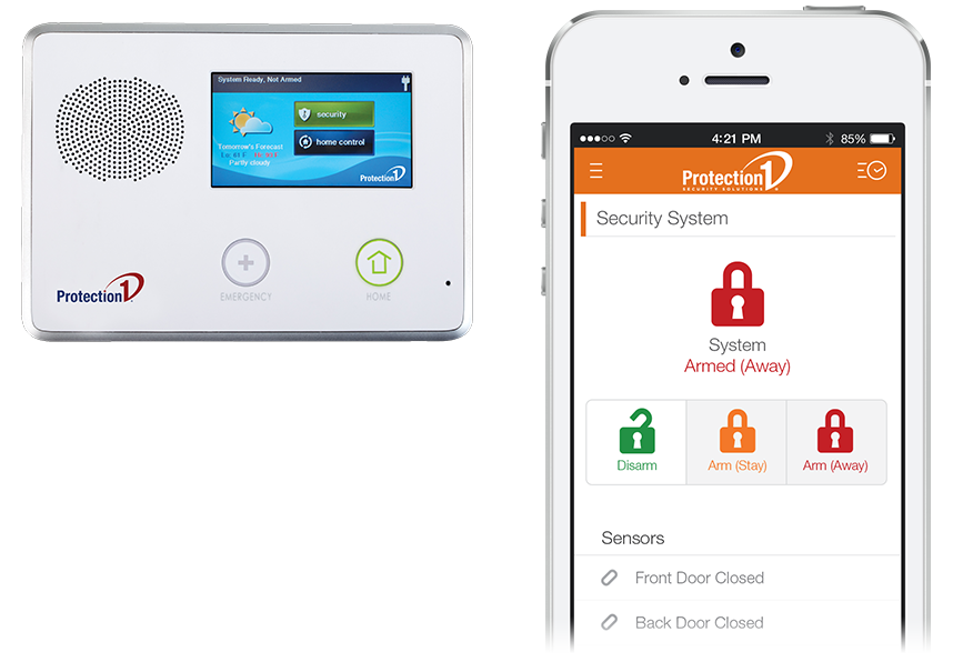 Home Automation Security System Arming